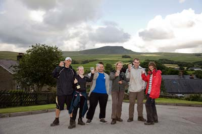 Yorkshire 3 peaks team from Resources for Autism