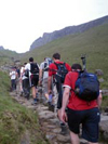 Lake District ten peaks challenge - this makes an ideal alternativ to the national three peaks challenge