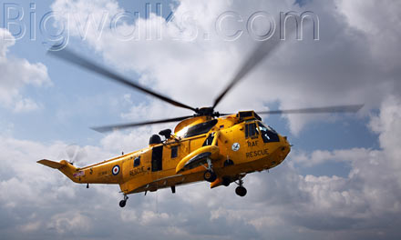 Seaking helicopter search and rescue