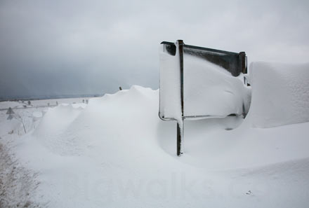lake District snow drifts